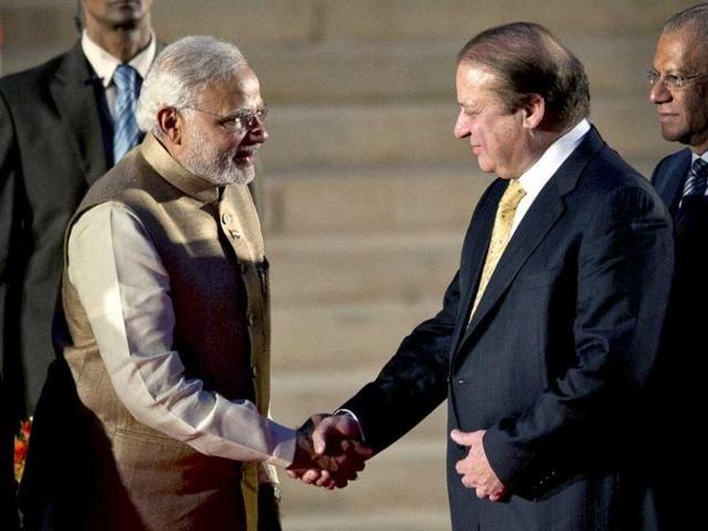 Modi-Sharif meeting,Modi govt,SCO Summit