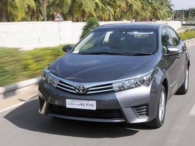 New Toyota Corolla Altis India first drive