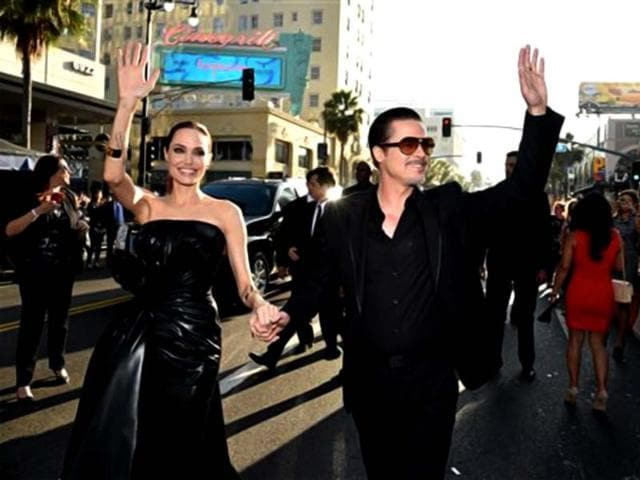 Brad-Pitt-and--Angelina-Jolie-arrive-for-Maleficent-premiere