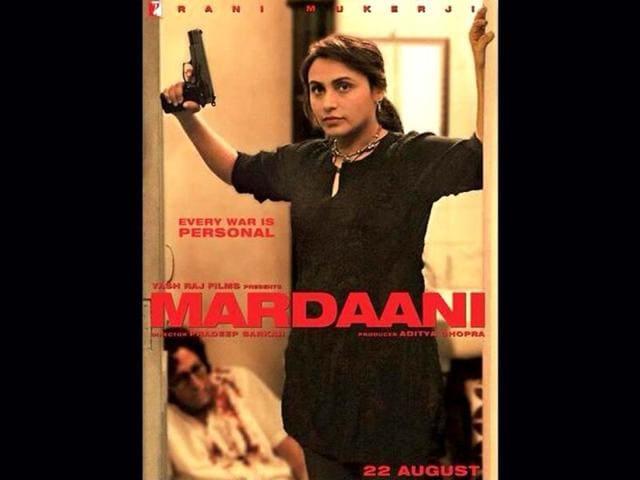 Rani-Mukerji-in-a-poster-of-Mardaani