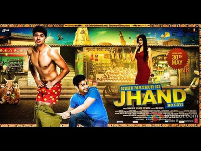 Theatrical-release-poster-for-Kuku-Mathur-Ki-Jhand-Ho-Gai