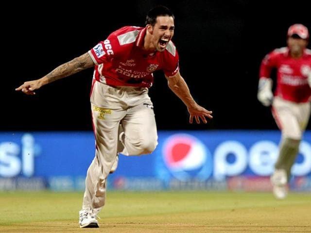 Mitchell Johnson,IPL 8,Kings XI Punjab