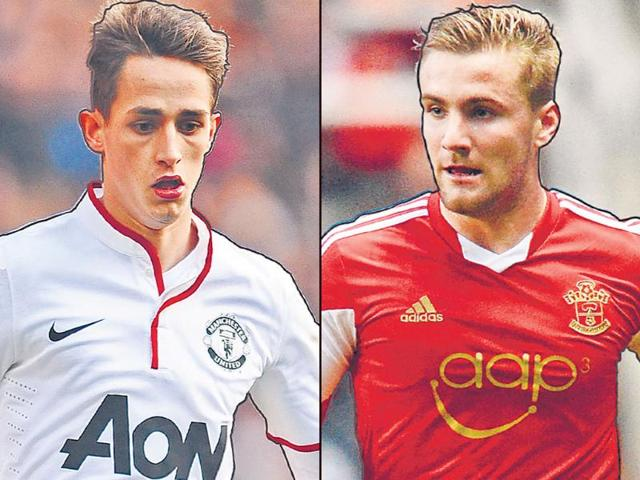 Adnan-Januzaj-L-of-Belgium-and-Luke-Shaw-of-England-Agency-Photo