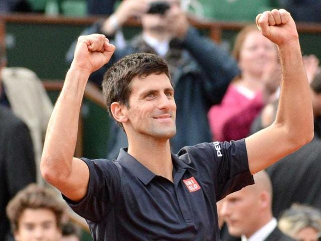 Novak-Djokovic-of-Serbia-celebrates-his-straight-sets-victory-over-Milos-Raonic-of-Canada-in-their-quarter-final-match-during-the-French-Open-at-Roland-Garros-in-Paris-EPA-Photo