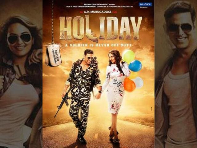 Holiday: A Soldier Is Never Off Duty,Akshay Kumar,Sonakshi Sinha