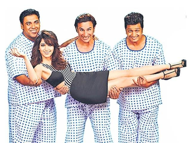 Sajid Khan is now back with his three-triple-roles comedy Humshakals featuring Saif Ali Khan, Riteish Deshmukh and Ram Kapoor.