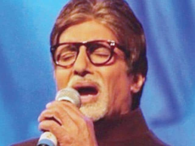 "Amitabh Bachchan: Rang BarseAlthough he says, ""I can't sing that well... with the help of it (modern technology) I have sung songs."" However, his voice has been topping the charts since 1981 when he crooned the epic, Rang Barse. He will be singing for his next with R Balki."