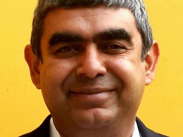 IT services,Infosys,Vishal Sikka