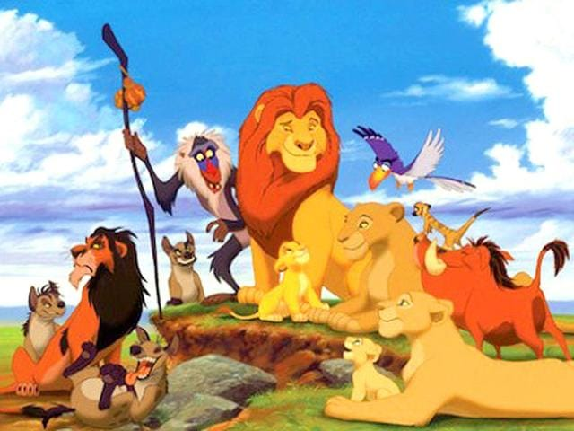 The Lion King,Greatest Animated Disney Movie of All Time,Disney movie
