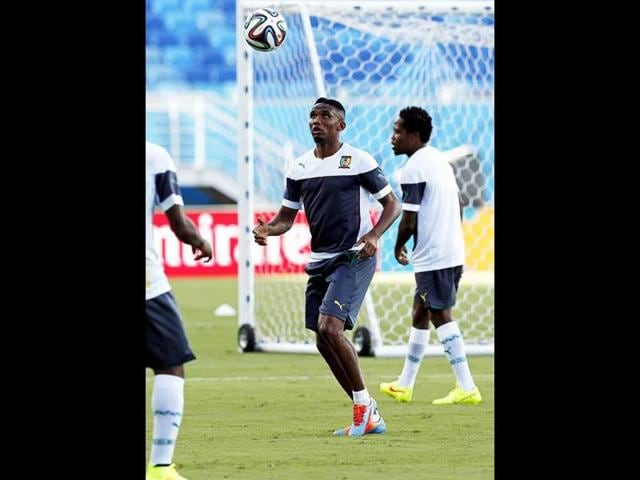 Cameroon-s-Samuel-Eto-o-C-during-a-training-session-at-the-Arena-Das-Dunas-in-Natal-EPA-Photo