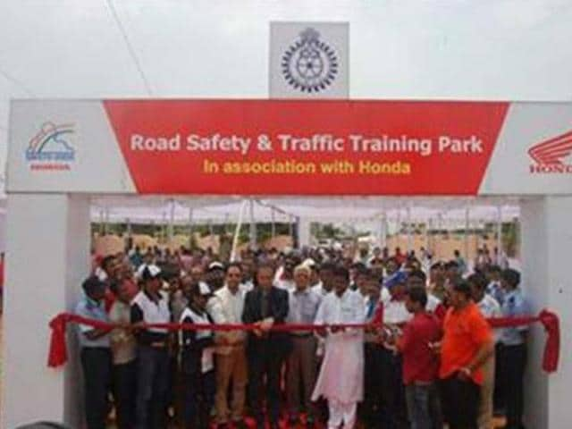 Honda-inaugurates-two-traffic-parks