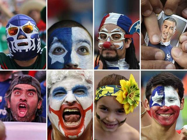 Take a peek into some of the most emotive fan moments of FIFA World Cup 2014.