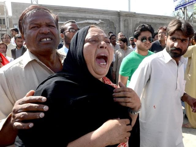 Pakistani-Christians-mourn-the-death-of-Handery-Masih-Christian-provincial-legislator-of-the-governing-National-Party-after-he-was-gunned-down-by-his-own-bodyguard-AFP-photo