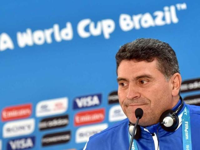 Honduras-coach-Luis-Suarez-listens-during-a-press-conference-at-the-Beira-Rio-stadium-in-Porto-Alegre-on-the-eve-of-their-World-Cup-match-against-France-AFP-Photo