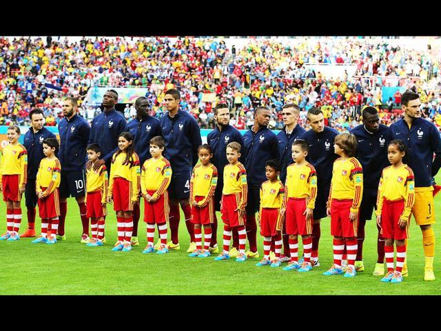Players-of-France-line-up-before-their-World-Cup-match-agaist-Honduras-at-the-Estadio-Beira-Rio-in-Porto-Alegre-Brazil-EPA-Photo