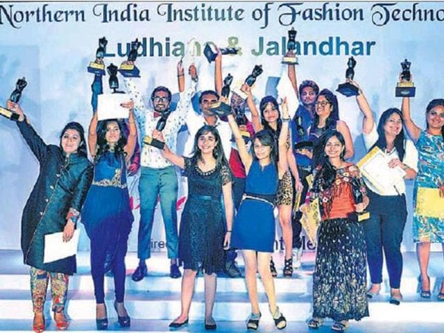 Jubilant-students-after-a-fashion-event