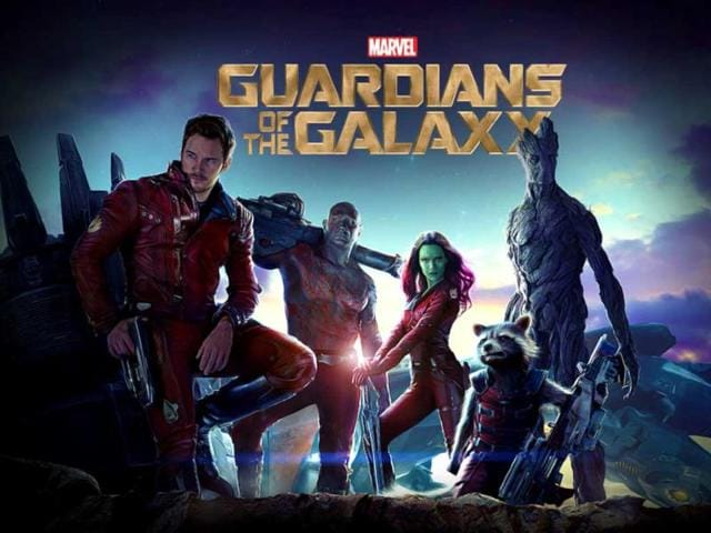 Guardians of the galaxy,bradley cooper,zoe saldana