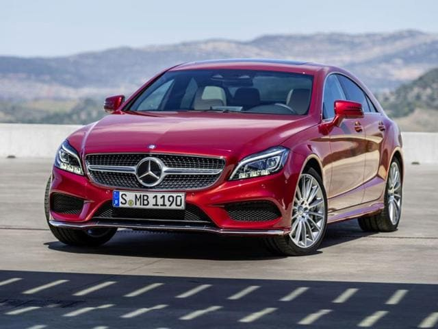 Mercedes brightens up the CLS
