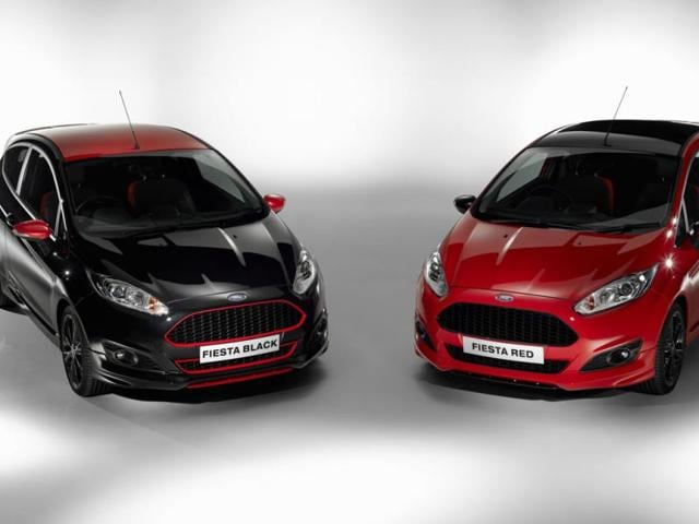 The-Red-and-Black-editions-of-the-Ford-Fiesta-will-be-available-on-September-2014-Photo-AFP