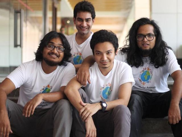 Dehli-based-band-The-Local-Train-for-special-pre-screening-of-their-new-video-Aaoge-tum-kabhi-in-Chandigarh-HT-photo