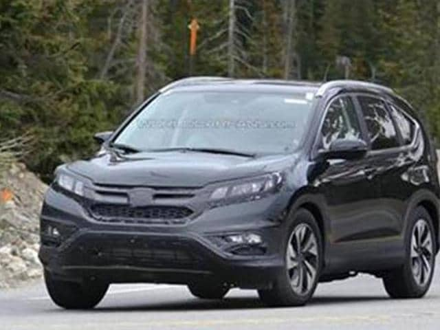 Honda-working-on-CR-V-facelift