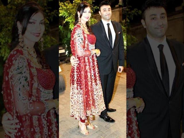 Yukta-Mookhey-and-husband-Prince-Tuli-Getty-Images