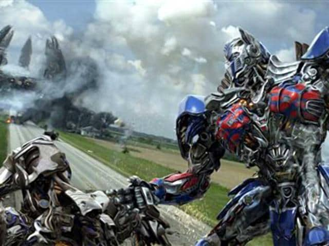 An automobile mechanic and his daughter make a discovery that brings down the Autobots - and a paranoid government official - on them. Optimus Prime in a scene from the the film, Transformers: Age of Extinction. (AP Photo)