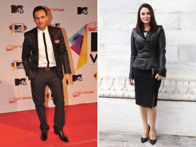 Marc Robinson won't talk about his ex-girfriend Preity Zinta