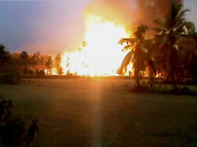 Gail pipeline blast,East Godavari district,Nagaram