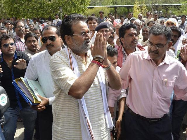 PEB scam: Laxmikant Sharma denied bail
