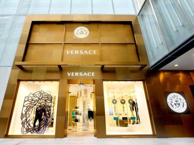 Versace,Hong Kong,flagship store