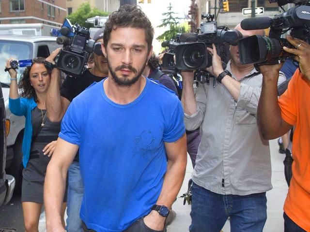 Shia LaBeouf wants to shed bad boy image, inspired by Brad