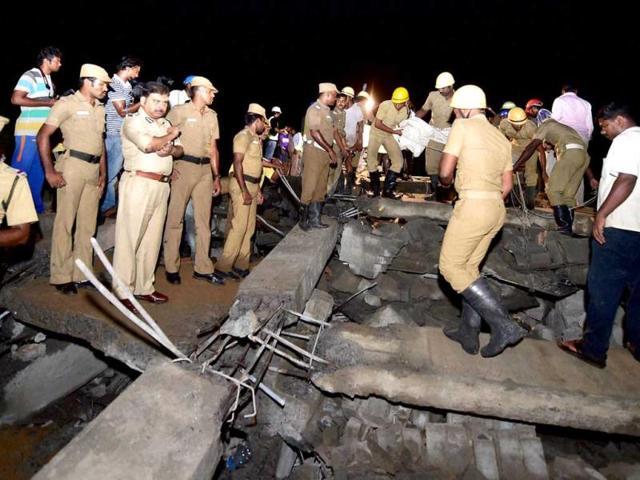 Chennai building collapse