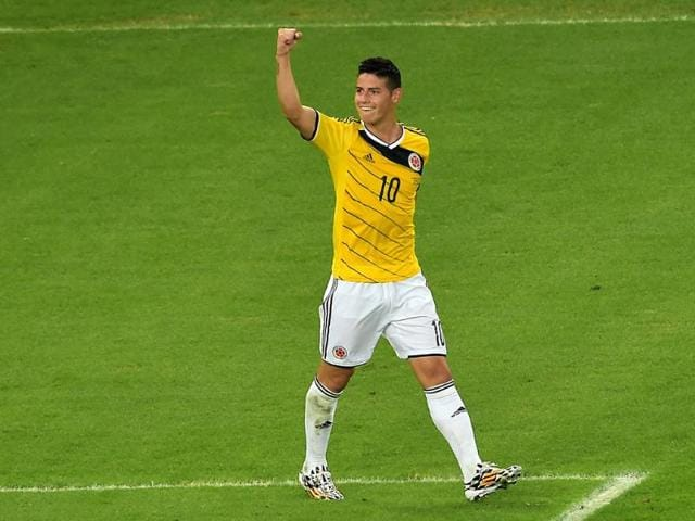 James Rodriguez,columbia,real madrid