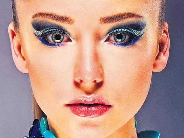 80s Style Blue Eye Make Up A Rage This Season Fashion And Trends