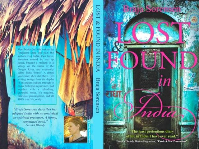 Braja Sorensen,lost and found in india,book review