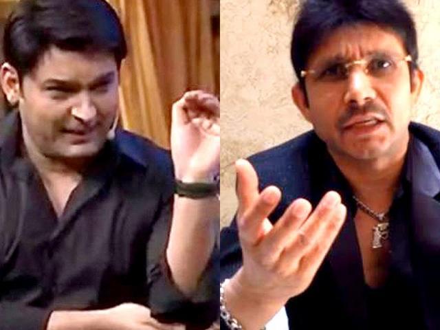 Kapil Sharma,KRK,Kamal Rashid Khan