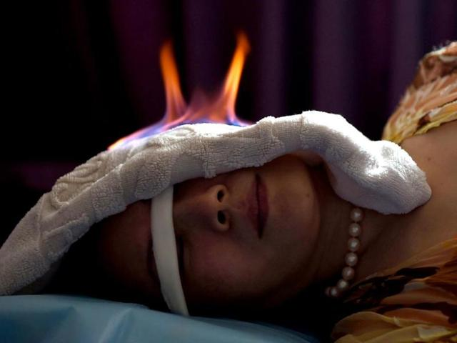 fire therapy,chinese medical therapy,stress