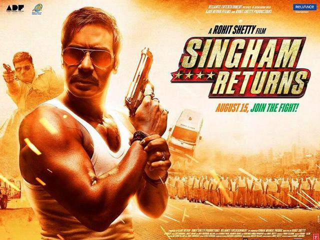 Ajay Devgn,Singham Returns,Ajay Devgn films with a message