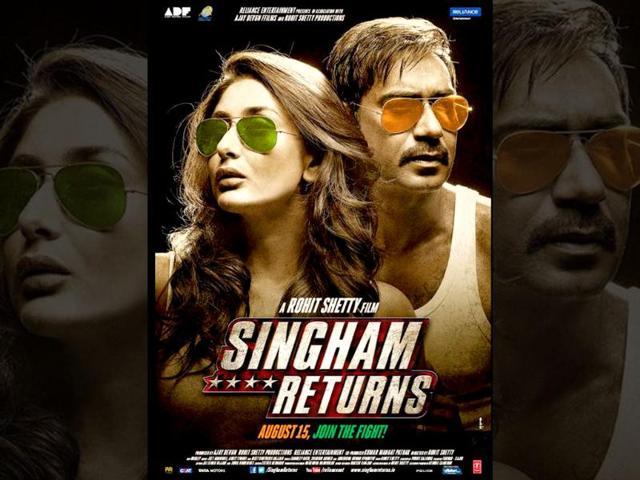Rohit Shetty,Singham Returns,Ajay DEvgn