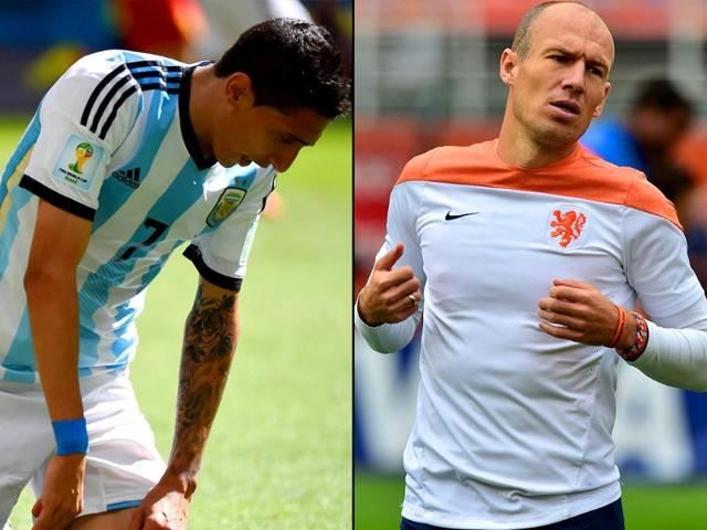 A-combination-photo-of-Netherlands-Arjen-Robben-and-Argentina-s-Lionel-Messi-Agency-Photo