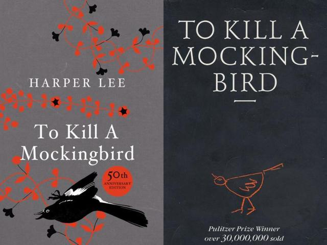 Author-Harper-Lee-L-and-the-cover-of-her-book-To-Kill-a-Mockingbird-Agencies