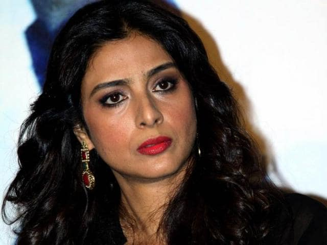 And why does Tabbu look so angry at the trailer launch of Haider? Keep guessing! (AFP Photo)