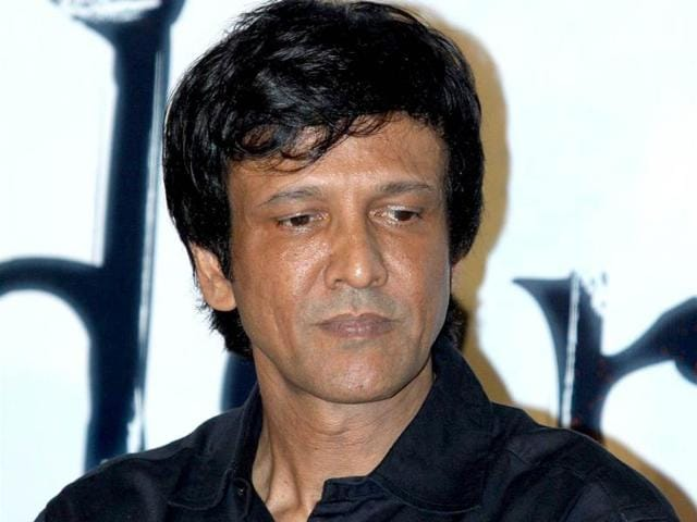 Is Kay Kay Menon in a brainstorming mood? The actor was present at the trailer launch of Haider.