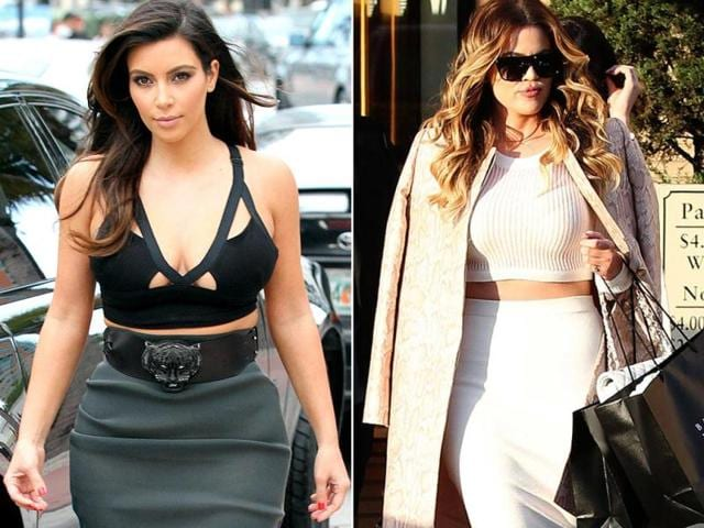 The-Kardashian-sisters-Kim-and-Khloe-step-out-in-their-fashionista-mode-Agencies
