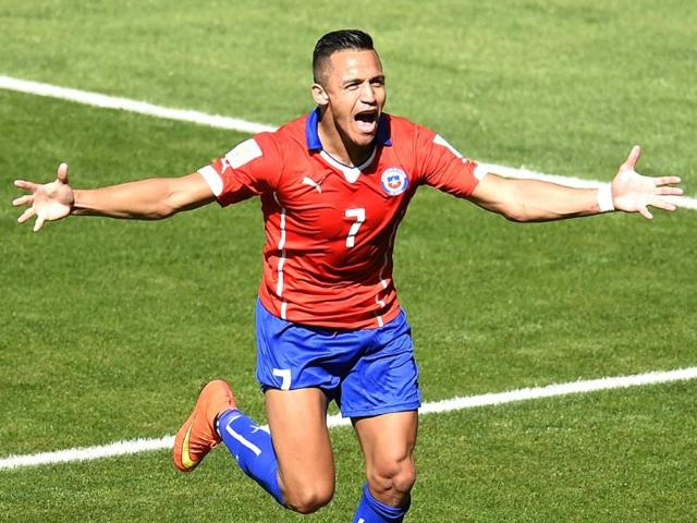 Chile-s-forward-Alexis-Sanchez-celebrates-after-scoring-a-goal-during-their-Round-of-16-football-match-against-Brazil-at-The-Mineirao-Stadium-in-Belo-Horizonte--AFP-Photo