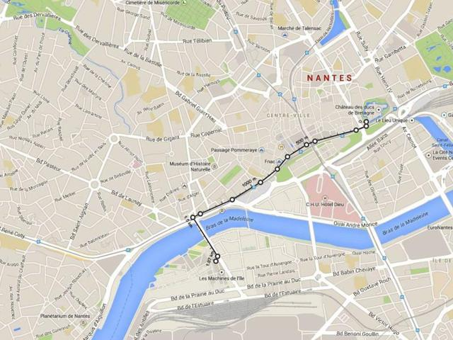Drawing Lines Google Maps : Google maps now measures distance between two points