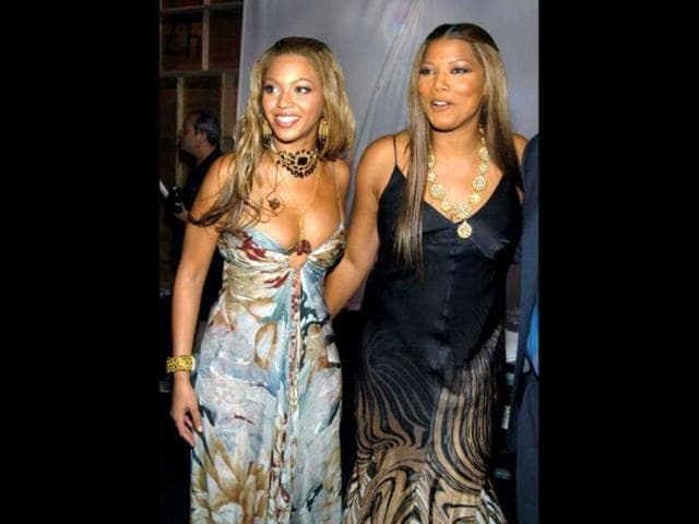 Beyonce-with-Queen-Latifah-Getty-Images