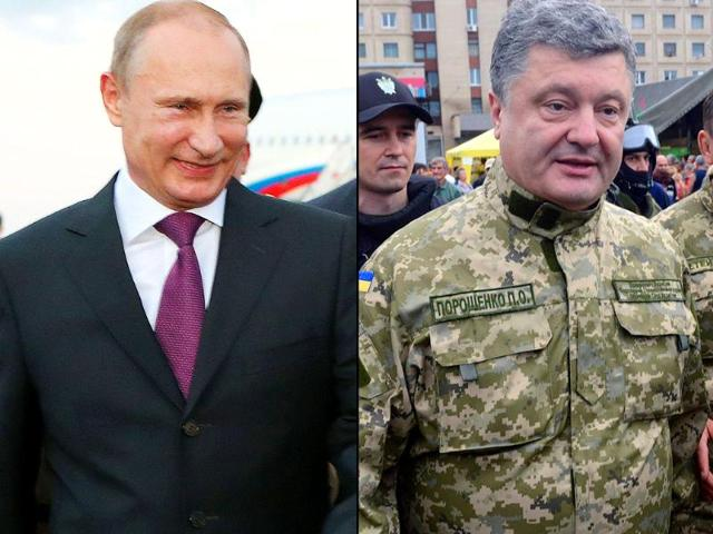 A-combination-picture-of-Russian-President-Vladimir-Putin-left-and-Ukraine-President-Petro-Poroshenko-Agency-Photo