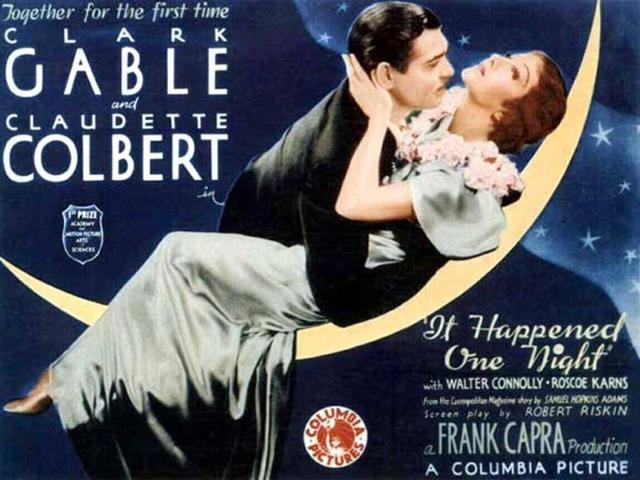 Poster-for-It-Happened-One-Night-1934--starring-Clark-Gable-and-Claudette-Colbert